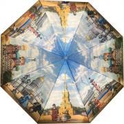 Складной зонт «Чистое небо над Петербургом» (полуавтомат)
