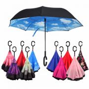 Зонт-наоборот полуавтомат UpBrella