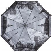 Складной зонт «Возле воды в Петербурге в серых тонах» (автомат)