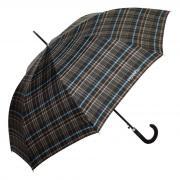Большой мужской зонт трость в клетку шотландку Ferre 642-AU Scottish 1