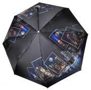 Зонт женский Три Слона 145-Q-02 черный