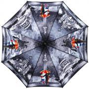 Складной зонт «Контрастный Санкт-Петербург» (полуавтомат)