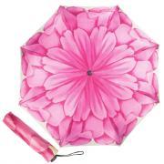 Зонт складной женский автоматический Pasotti Mini Georgin Rosa розовый