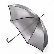 Зонт женский трость серебристый Fulton L903-011 SilverIridescent
