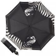 Зонт складной женский автоматический FERRE MILANO 6009-OC белый/черный