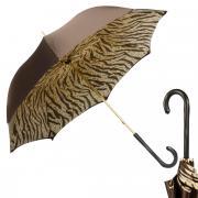 Зонт-трость женский Pasotti 3126 коричневый