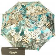 Зонт складной женский автоматический Pasotti Mini Novita Biruza зеленый