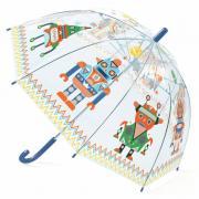 Роботы 68 см зонт-трость детский прозрачный для детей от 3 лет DJECO DD04806