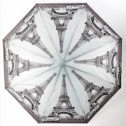 Зонт женский автоматический Pasio 119-15 (Серый)