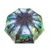 Зонт подростково-женский полуавтоматический Diniya 2271 (Зеленый)