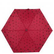 Зонт Flioraj 170407 Кошки в гороше красный