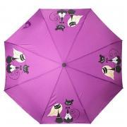 Зонт Flioraj 160404 Кошки фиолет