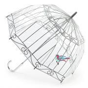 Зонт-трость женский механический Fulton L719-1934 прозрачный
