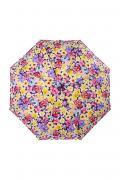 Зонт складной женский автоматический ZEST 24757-128 розовый/желтый