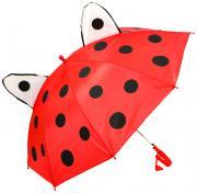 Детский зонт Shantou Gepai UME45 AMS с ушками со свистком 45 см