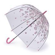 Зонт-трость женский механический Fulton L042-4042 розовый