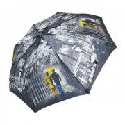 Зонт женский полуавтомат Tulips 002-6 (Черно-белый)