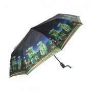 Зонт женский автоматический Pasio 119-13 (Темно-синий)