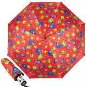Зонт складной женский Baldinini 18-OC Diamante Red