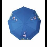 Зонт женский автоматический Diniya 949-6 (Синий)
