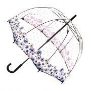 Зонт-трость женский механический Fulton L042-3727 синий