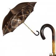Зонт-трость женский Pasotti 3967 коричневый