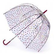 Зонт белый Fulton L719-3649 ConfettiLip