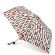 Зонт складной женский механический Fulton L768-3137 белый