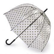 Зонт-трость женский механический Fulton L042-3635 прозрачный