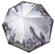 Зонт женский Три Слона 145-Q-03 серый