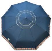 Брендовый складной зонт Louis Vuitton синий AM040302