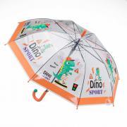 Зонт-трость Котофей 03707075-00 прозрачный