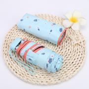 Зонт Женский мини -зонтик, 6 спиц (Япония) нежно-голубой