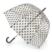 Зонт-трость женский механический Fulton L746-3201 прозрачный