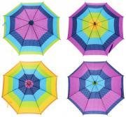 Зонтик детский Shantou Gepai Горошек со свистком 45 см UM45 PRBW