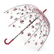 Зонт-трость женский механический Fulton L042-3728 красный