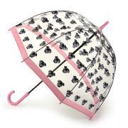 Зонт-трость женский механический Fulton L042-3726 розовый
