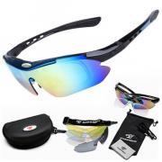 Поляризационные очки со сменными стеклами (набор из 12 предметов)