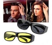 Антибликовые очки для водителей Smart HD View 2 шт.