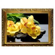 """Алмазная мозаика """"Цветок радости"""" 29,5x20,5 см, 25 цветов"""