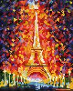 "Алмазная мозаика ""Париж - огни Эйфелевой башни"", 20х25см"