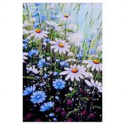 """Алмазная мозаика """"Ромашковое настроение"""" 20 x 29 см, 25 цветов"""