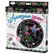 """Алмазная мозаика Чудо-Творчество """"Часы. Колибри"""", более 1500 элементов, ORIGAMI, 03211"""