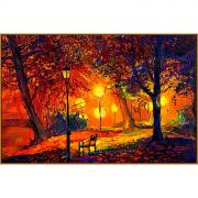 """Алмазная мозаика """"Осенний сквер"""", 33 цвета"""