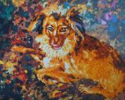 Color Kit Алмазная картина-раскраска Породистый пес