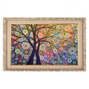 Алмазная мозаика «Райский сад» 29 x 20 см, 22 цвета