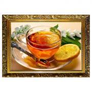 Алмазная мозаика «Бодрящий напиток» 29,5x20,5 см, 25 цветов