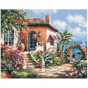 Набор для рисования Schipper Загородный дом на море 9240795