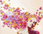 ФРЕЯ Кристальная мозаика (алмазная вышивка) Весна в душе ALV-43