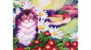 Color Kit Набор для вышивания бисером Цветочное настроение